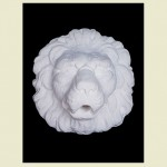 D'Este Lion Head Wall Plaque