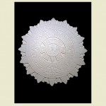 Aztec Concrete Plaque Wall Plaque