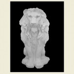 Fred Lion Concrete Statue