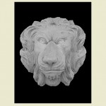 King Lion Head Wall Plaque