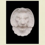 Oz Lion Head Wall Plaque