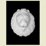 Regal Lion Head Wall Plaque