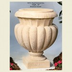 Concrete Royal Cresent Urn